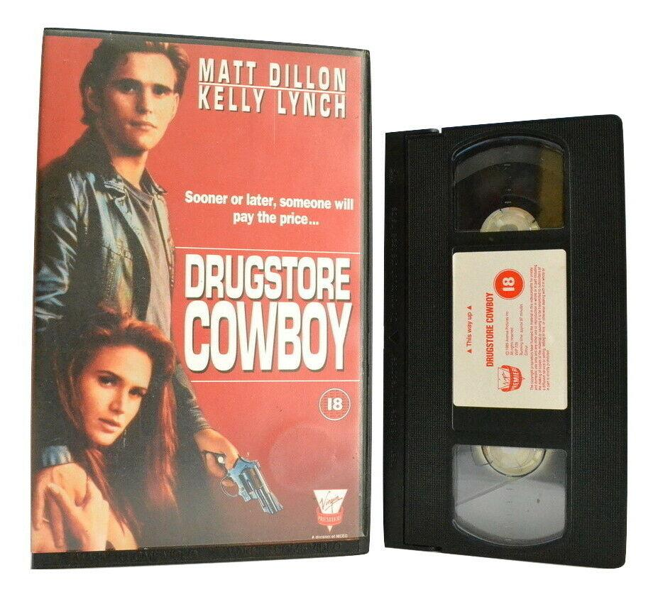 Drugstore Cowboy: Based On J.Fogle Novel - Drama - Large Box - Matt Dillon - VHS