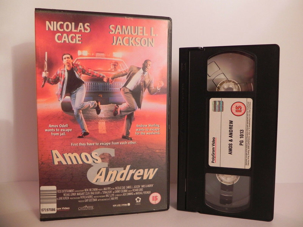 Amos And Andrew - Nick Cage/S.L.Jackson - Big Box - Ex-Rental - X-Funny - VHS