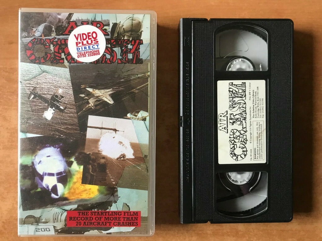 Air Crash [Documentary]: Aviation Video Library - World War 2 - F-16 - Pal VHS