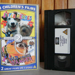 Little Heroes - A Kid Called Danger - Prism - 2 Children's Films On 1 - Pal VHS