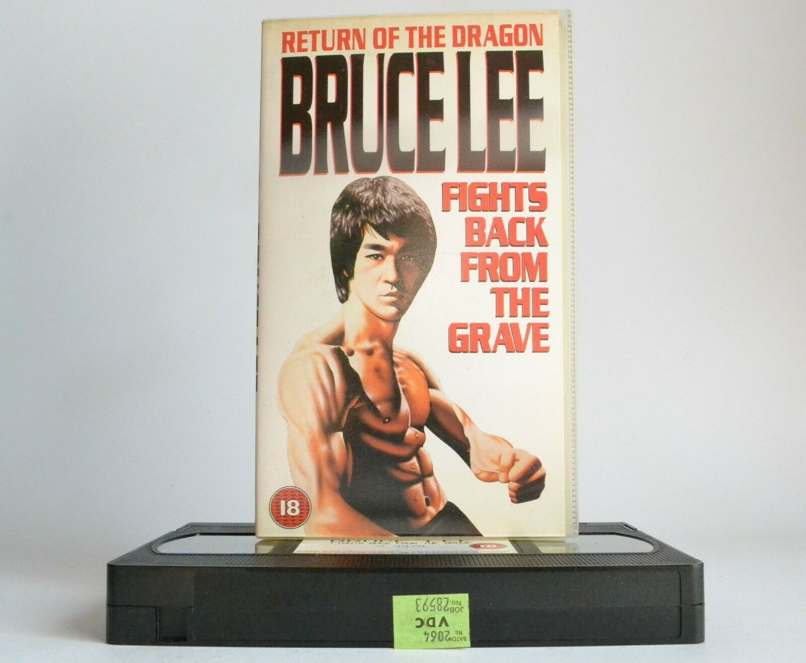 Bruce Lee Fights Back From The Grave (1976) - Martial Arts Action - Jun Chong - Pal VHS