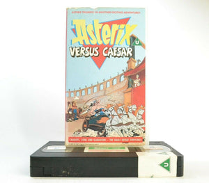 Asterix Versus Caesar: 4th Asterix Animated Film (1985) - Children's - Pal VHS