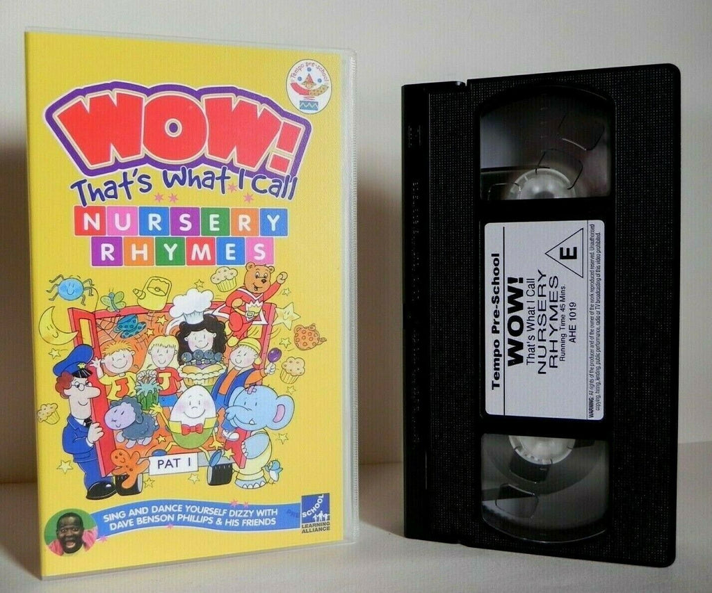 Wow: Kid's Action Songs - Nursery Rhymes - Sing Along - Dave Benson Phillips VHS