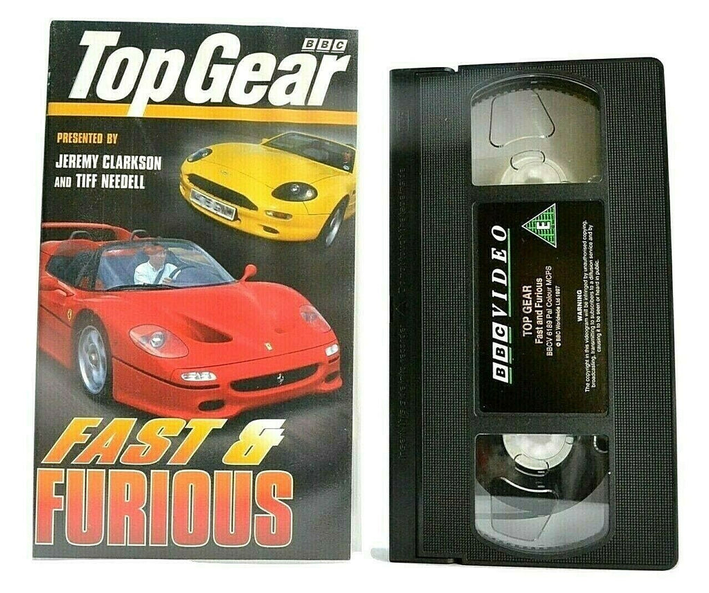 Top Gear: Fast & Furious [BBC] - Cars - Jeremy Clarkson/Tiff Needell - Pal VHS