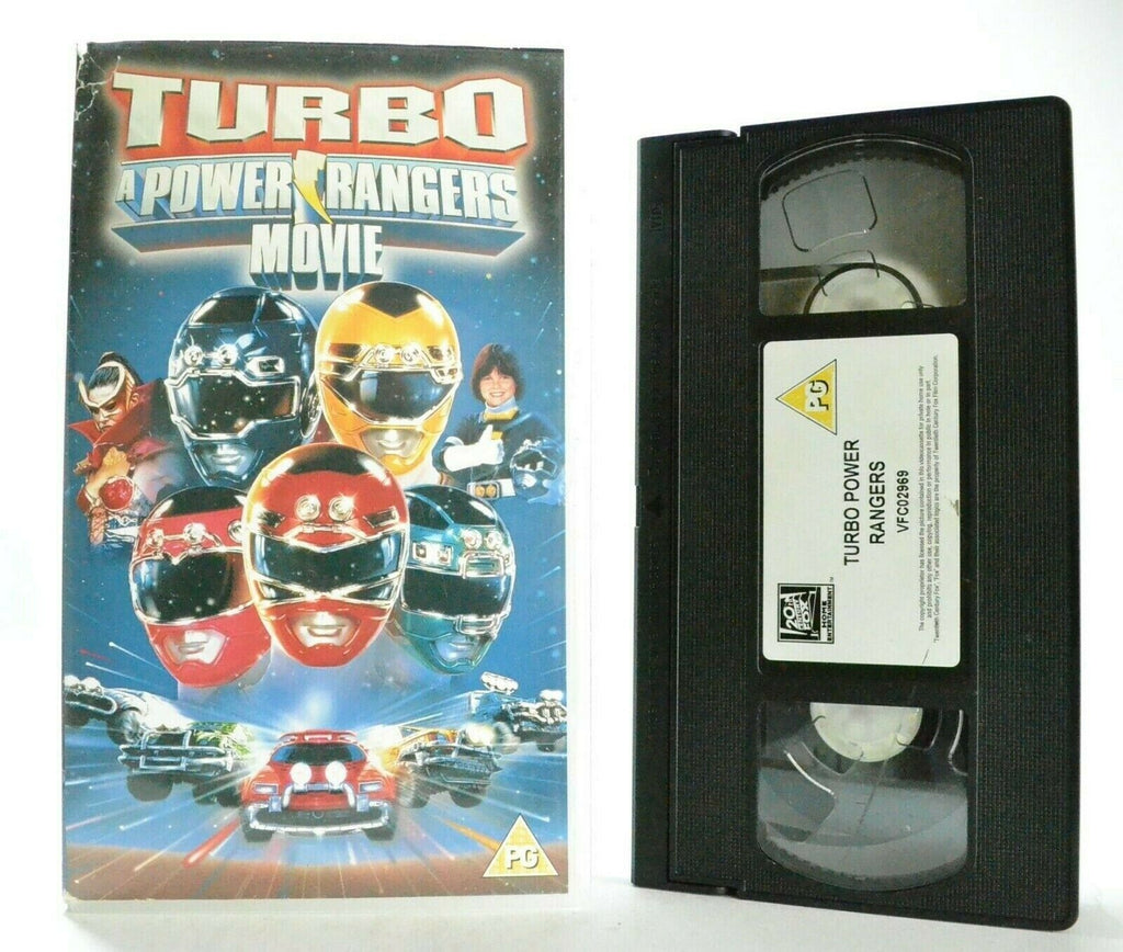 Turbo Power Rangers Movie (1997) - Sci-Fi Action - Adventures - Children's - VHS
