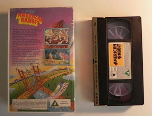 The Adventures of the American Rabbit (1986); Animated - Large Box - Children's - Pal VHS