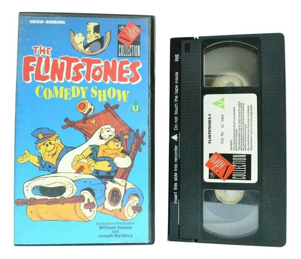 The Flintstones Comedy Show - Hanna-Barbera Classic - Animated - Kids - Pal VHS