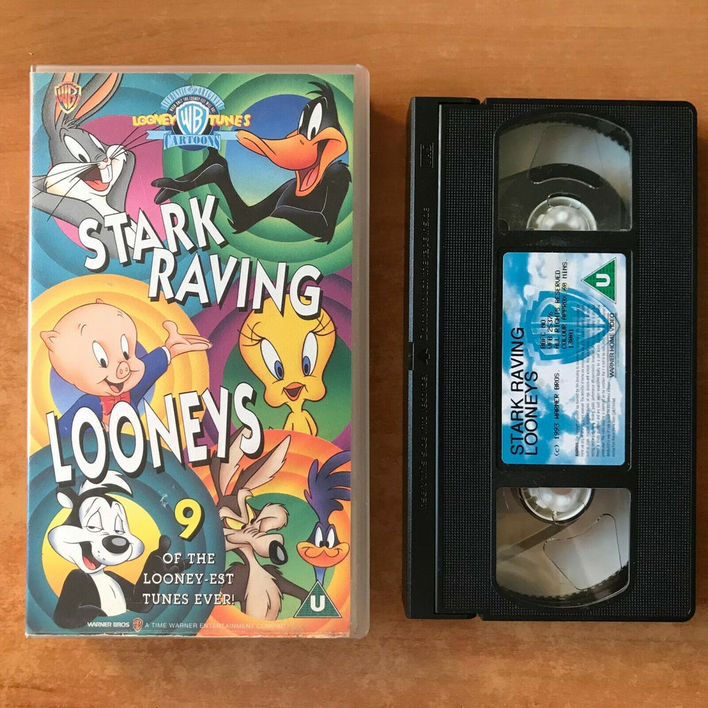 Looney Tunes: Stark Raving Looneys [Animated] Bugs Bunny - Children's - Pal VHS