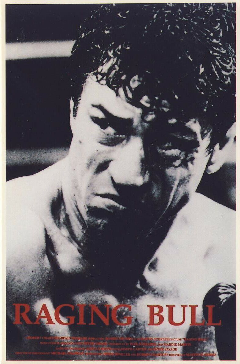 Raging Bull (1980); [Pre-Cert] Big Box - Robert De Niro - Boxing Drama - Pal VHS