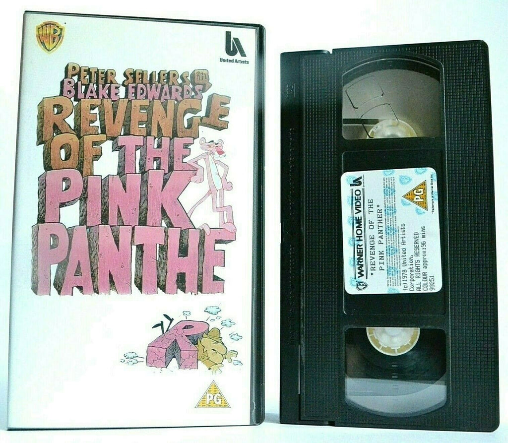 "Revenge Of The Pink Panther (1978): 6th ""The Pink Panther"" Comedy Film - Pal VHS"