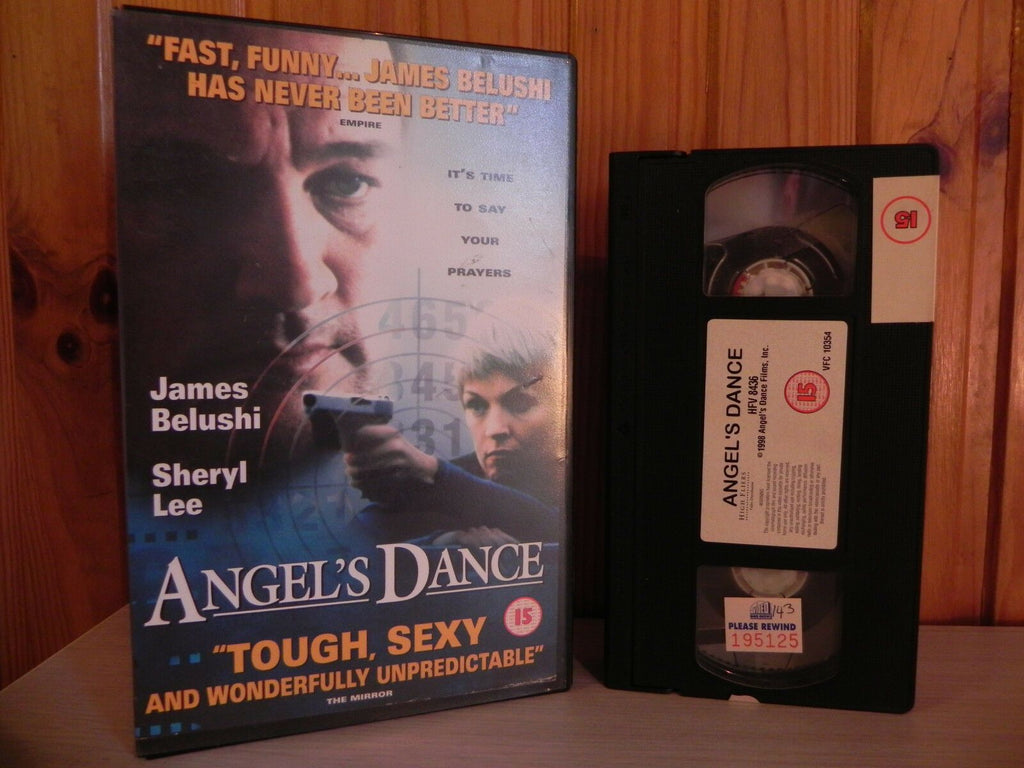 ANGELS DANCE - James Belushi - Hitman Trainer - Action Big Box - Ex-Rental - VHS