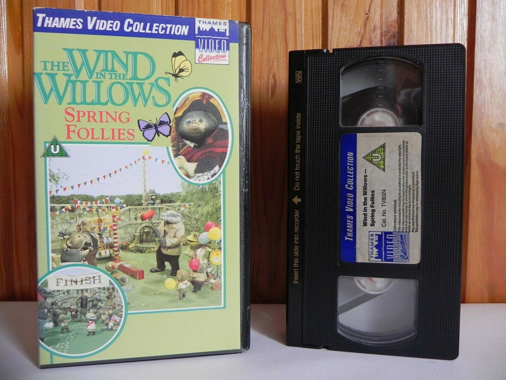 The Wind In The Willows: Spring Follies - Thames Video - Animated - Kids - VHS