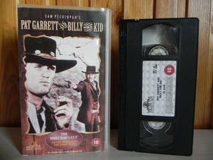 Pat Garrett And Billy The Kid - MGM/UA - Western - The Director's Cut - Pal VHS