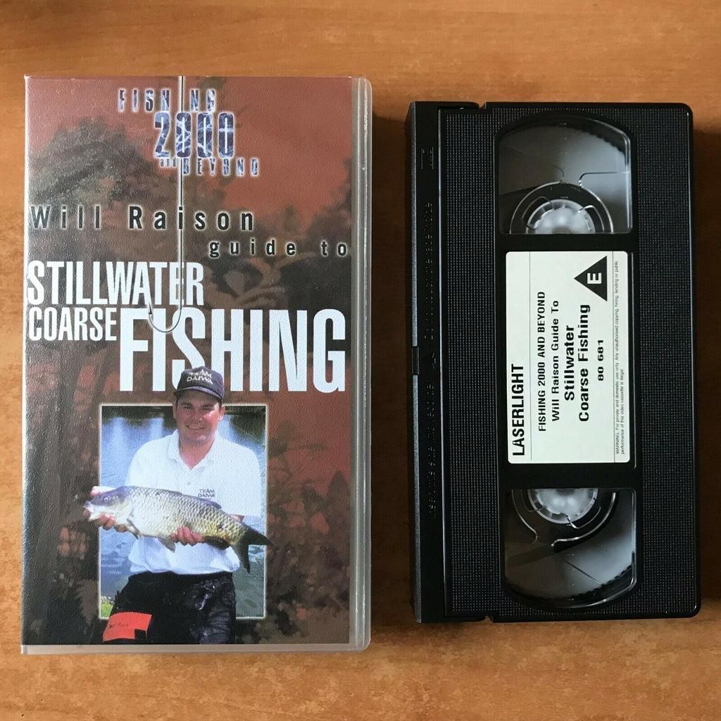 Stillwater Coarse Fishing; [Will Raison] Guide - Gold Valley Lakes - Pal VHS