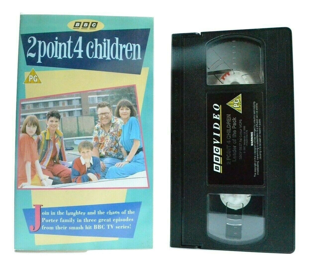 2 Point 4 Children: By Andrew Marshall - BBC Comedy Series - 3 Episodes - VHS