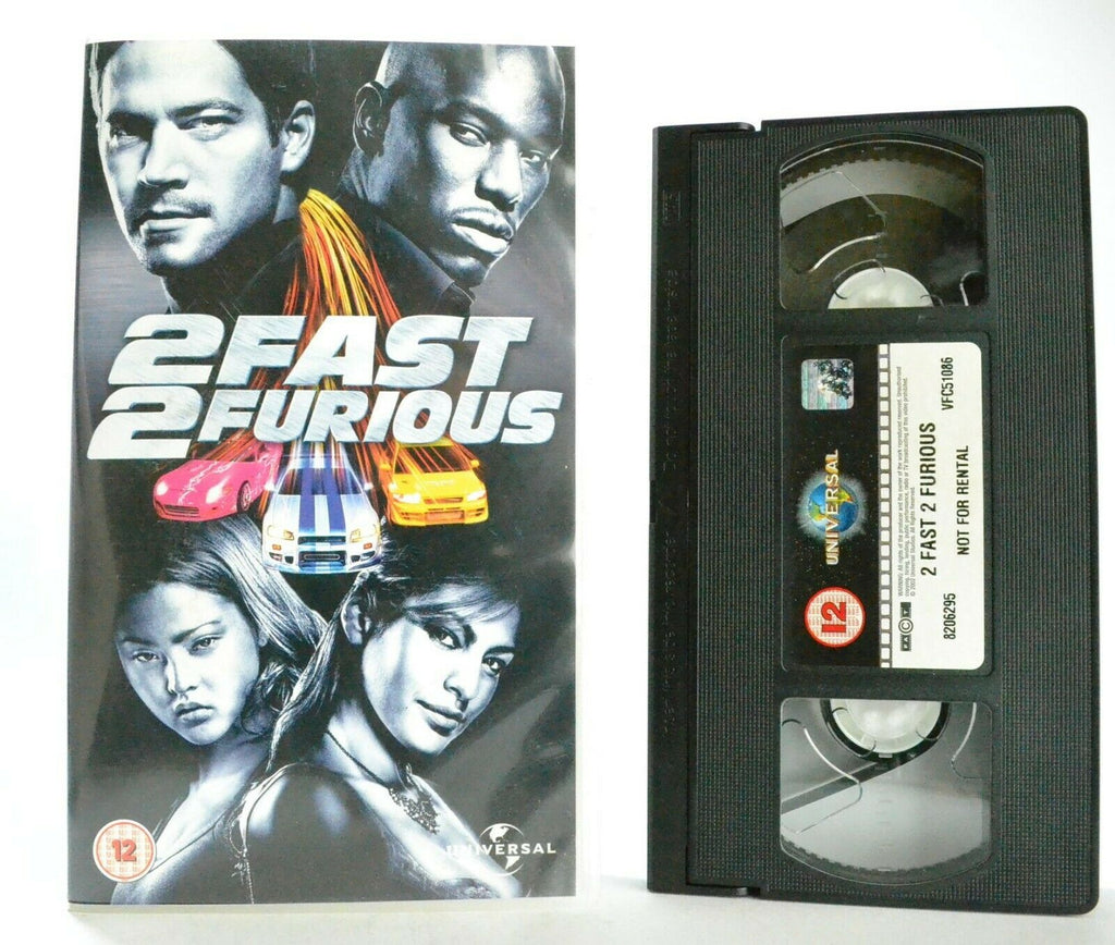 12A/12, 2005, Action, Action & Adventure, Fast, Furious, James Remar, John Singleton, PAL, Paul, Ride, Thrill, VHS, Walker