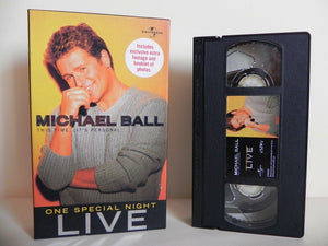 Michael Ball: This Time...It's Personal - Universal - Special Concert - Pal VHS