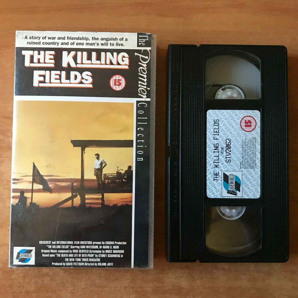 The Killing Fields (1984) Biographical Drama [3 Oscar Winner] Sam Waterson - VHS