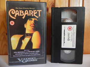 Cabaret, Deleted Title, Gems, Liza, Michael, Minnelli, Musical, Musicals & Broadway, Off, One, Pal, VHS, Video, York