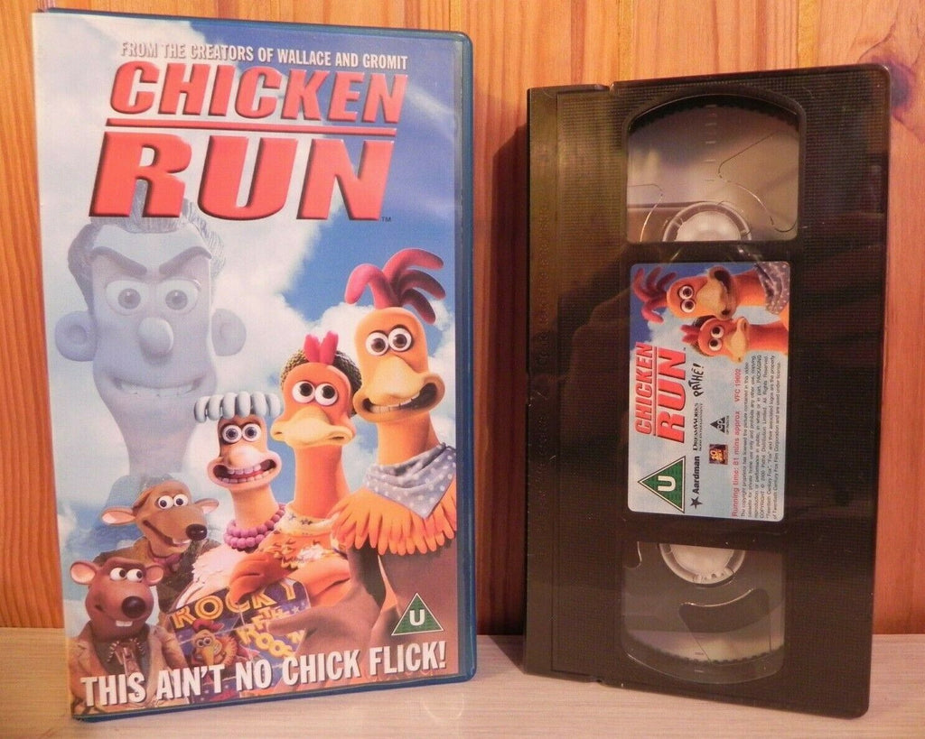 Chicken Run: Walt Disney Studios (2000) - Brand New Sealed - Children's - VHS