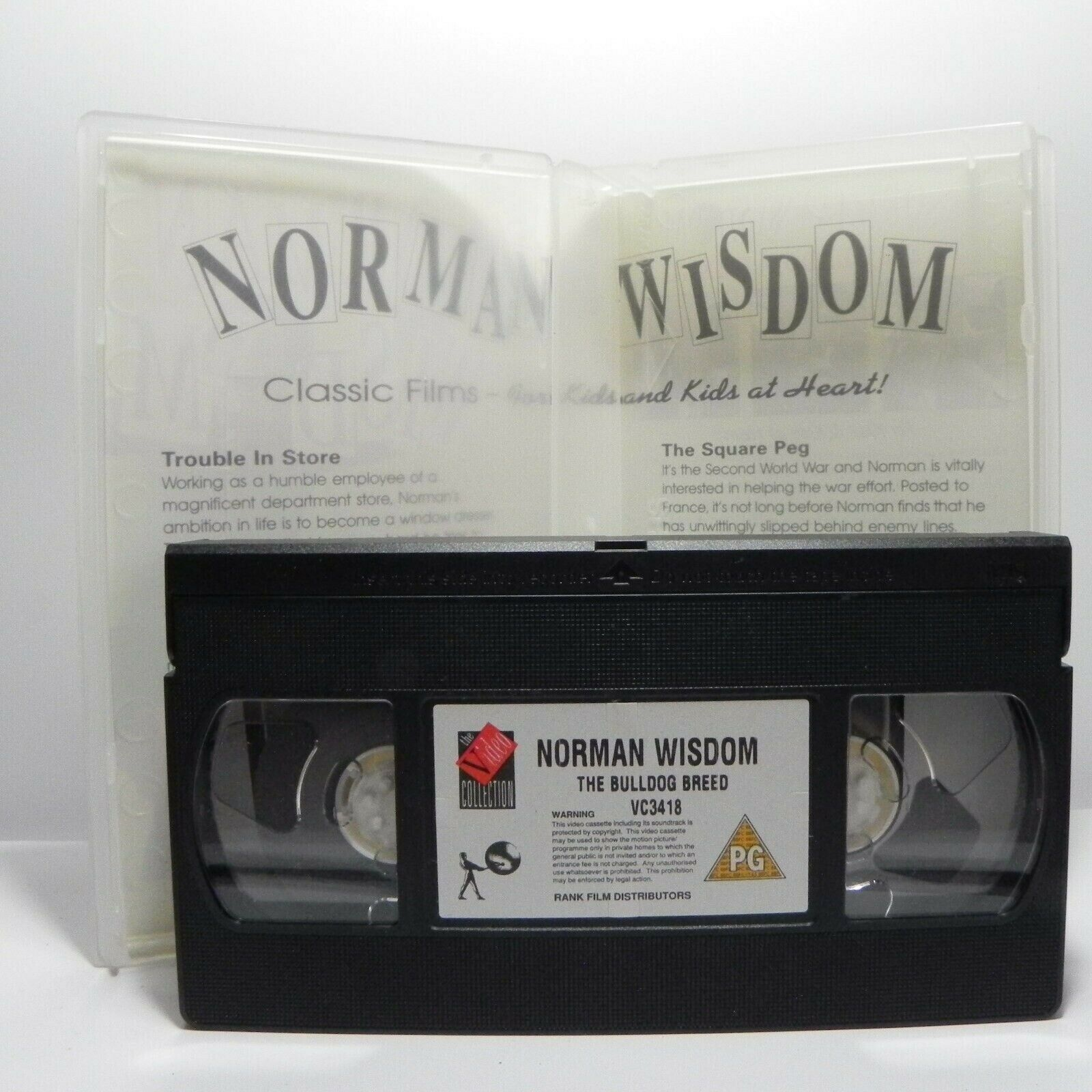 Norman Wisdom: The Bulldog Breed - Adventures - I.Hunter/D.Lodge - Pal VHS