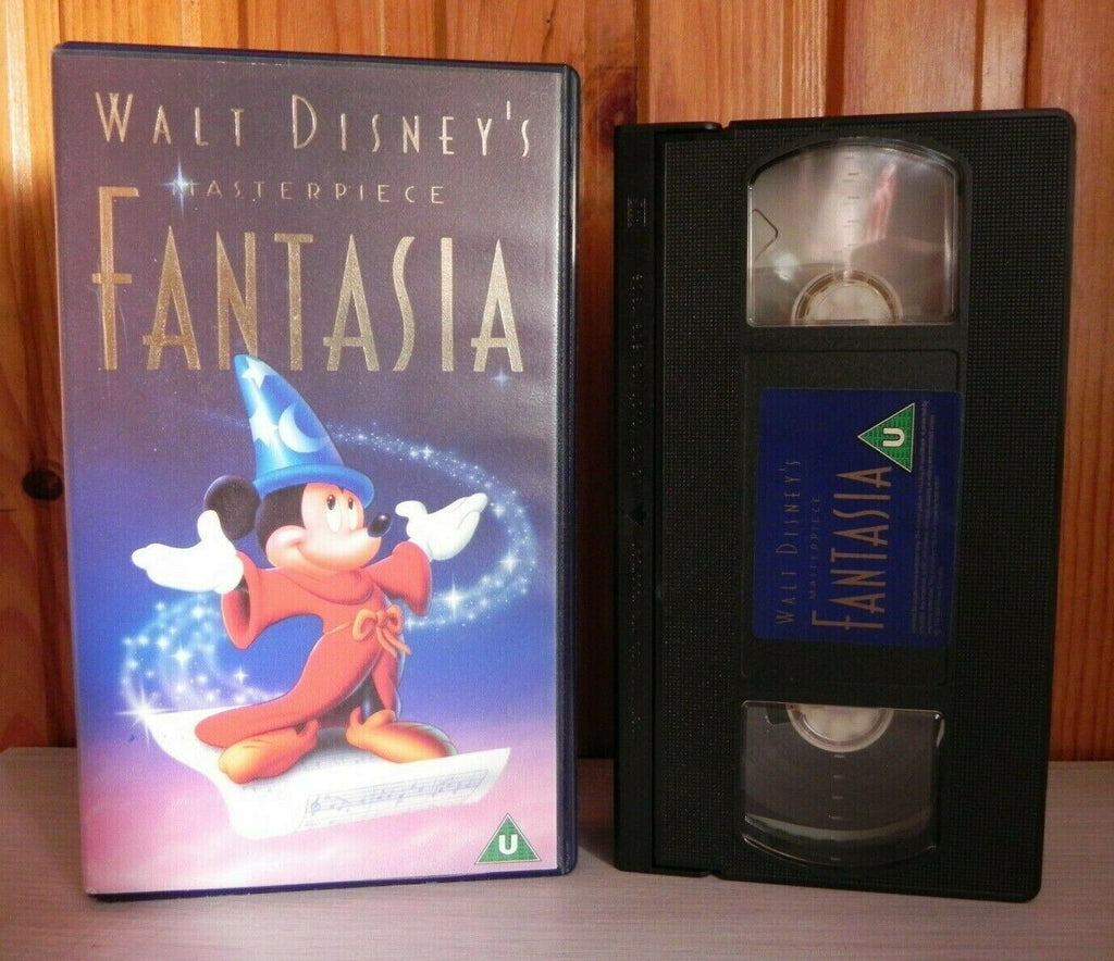 Fantasia (1940): 3rd Disney Animated Film - Mickey Mouse - Children's - Pal VHS