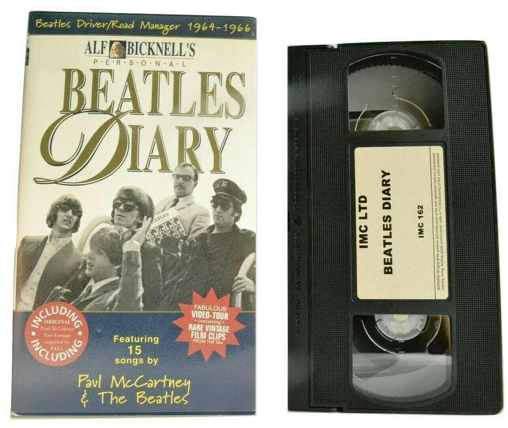 Beatles Diary; [Alf Bicknell] Documentary - Paul McCartney - John Lennon - VHS