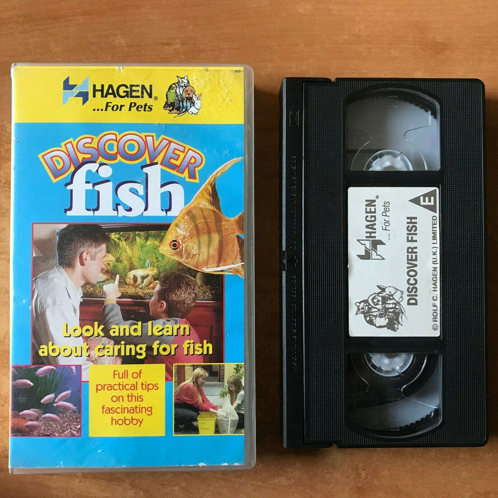 Discover Fish: Educational Guide - Tips - Aquariums For Children's - Pal VHS