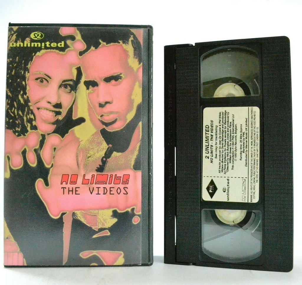 2 Unlimited: No Limits - The Videos - Twilight Zone - Tribal Dance - Music - VHS