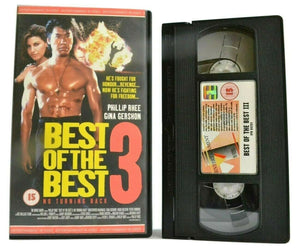 Best Of The Best 3: No Turning Back (1995) - Martial Arts - Phillip Rhee - VHS