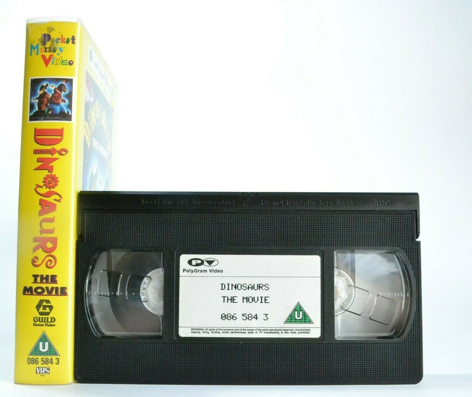 Children's & Family, Dinosaurs, Family, Film, Money, Movie, Pal, The, U, United Kingdom, VHS