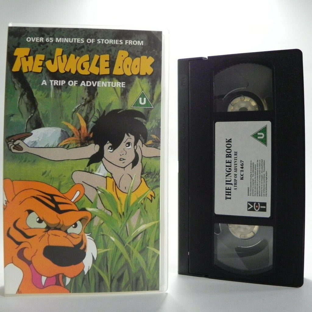 The Jungle Book: A Trip Of Adventure - 3 Episodes - Classic Stories - Kids - VHS