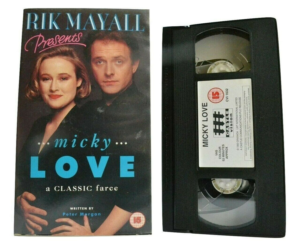 Micky Love: (1993) Made For T.V. - Comedy - Rik Mayall / Jennifer Ehle - Pal VHS