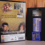 The Thomas Crown Affair - Brosnan - Russo - Slick Mystery Thriller -Rental- VHS