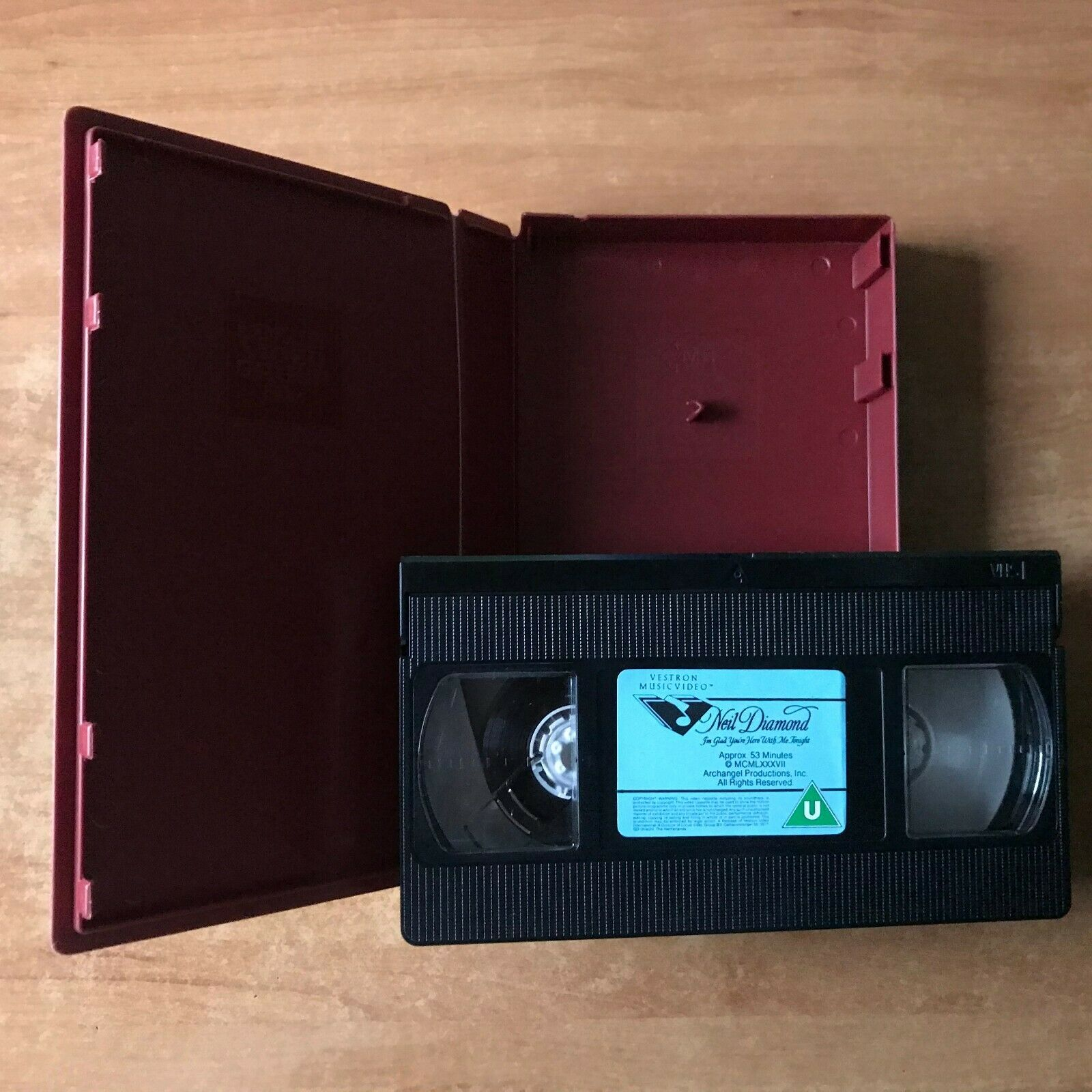Neil Diamond: I'm Glad Your'e Here With Me Tonight [Live Performances] Pal VHS