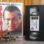 The Patriot - Columbia Pictures - Action - Steven Seagal - L.Q. Jones - Pal VHS