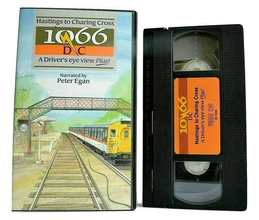10/66 DC: A Driver's Eye View Plus - [Peter Egan] - Documentary - Steams - VHS