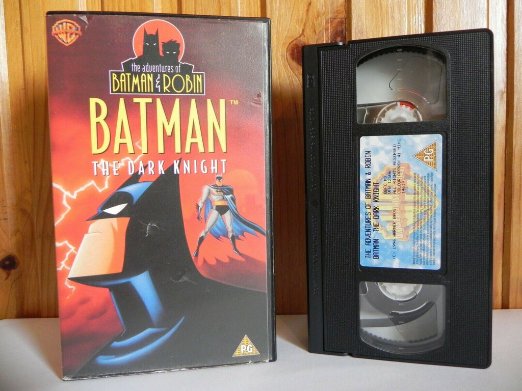 Action, Adventure, Animated, Batman, Children's & Family, Dark, Educational, Kids, Knight, No, PAL, The, U, United Kingdom, VHS, Warner