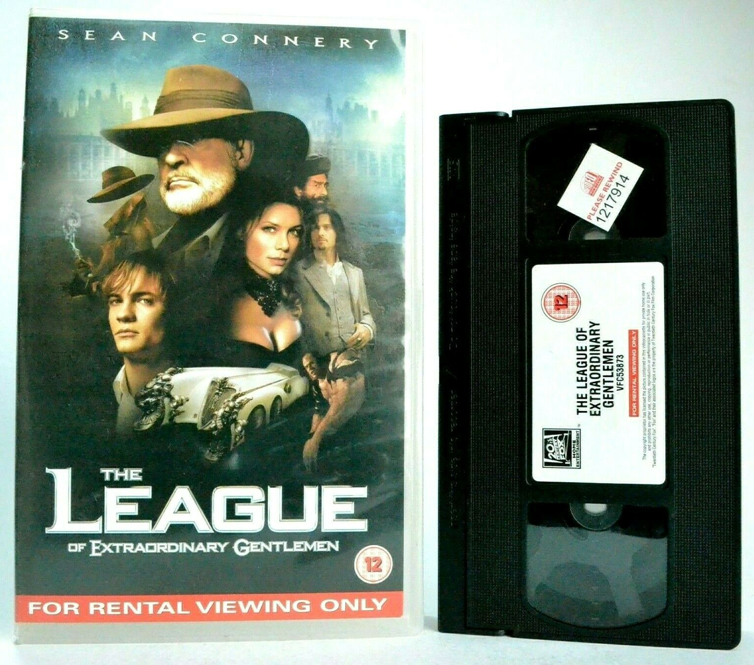 The League Of Extraordinary Gentlemen: Steampunk Film - Sean Connery - Pal VHS