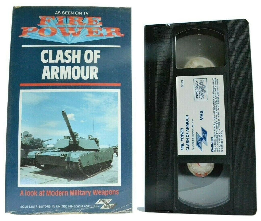 Clash Of Armour [Stylus Video]: Modern Military Weapons - Documentary - Pal VHS