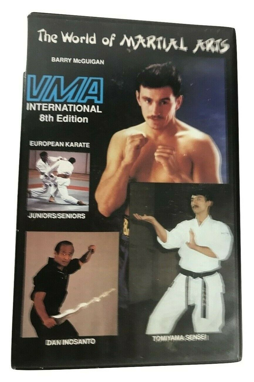VMA - World Of Martial Arts (Dan Inosanto) 8th Edition - European Karate - VHS