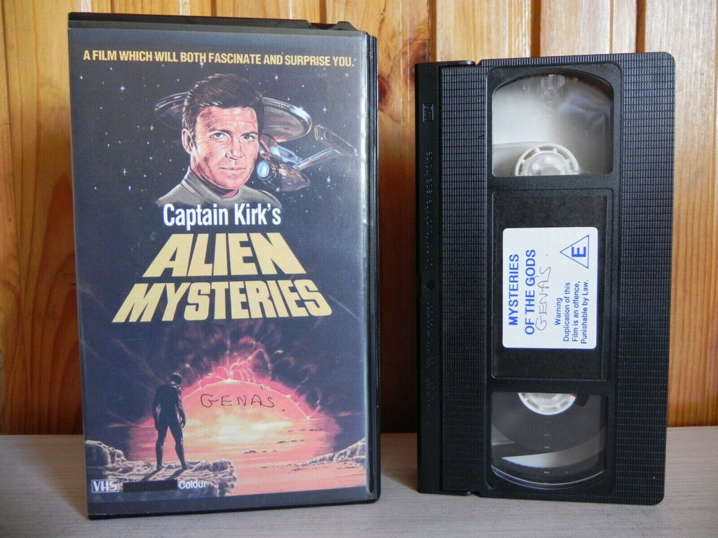 Captain Kirk's - Alien Mysteries - Conspiracy Blown - Documentary - Pal VHS