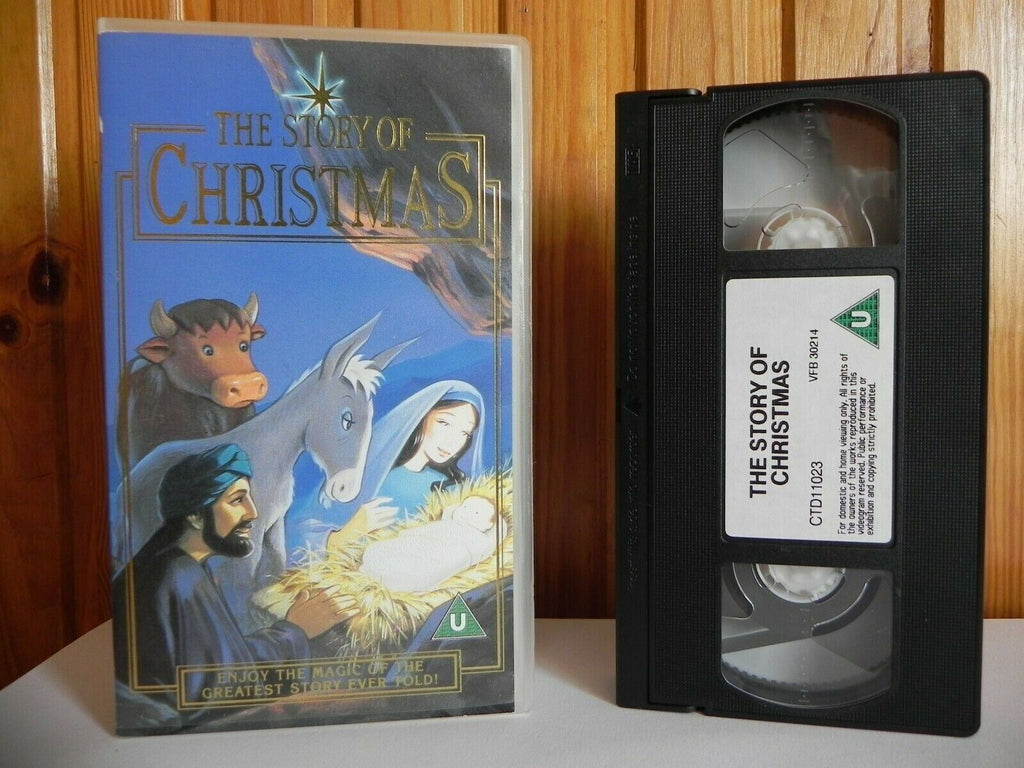 The Story Of Christmas - Animated - Children's Festive Animation - Pal VHS