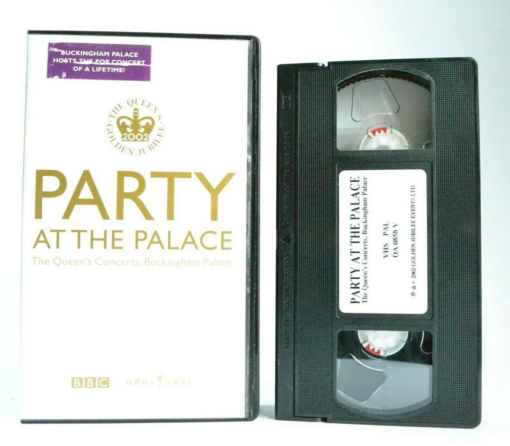 Party At The Palace: Queen's Concerts - Buckingham Palace - Live Music - Pal VHS