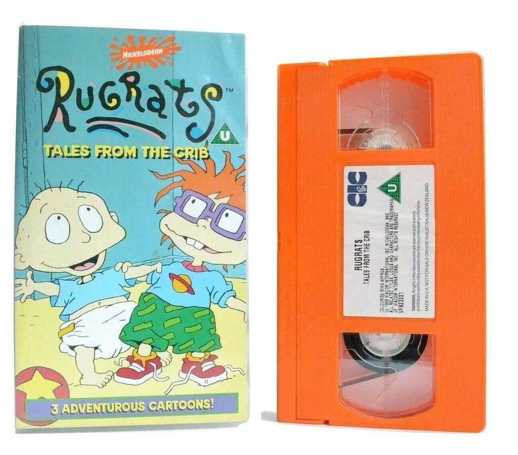 Rugrats: Tales From The Crib - Classic Episodes - Animated - Children's - VHS