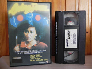 Going Down: Drama - Krypton Force - Large Box [Rental] Pre Cert - Tracy Mann - Pal VHS