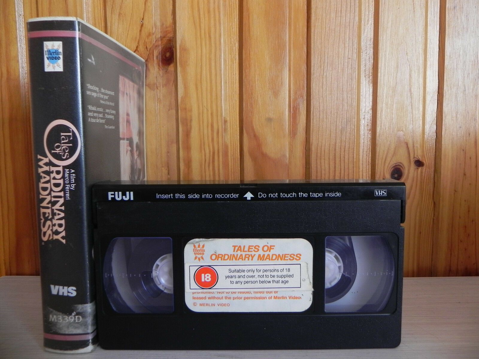 Tales Of Ordinary Madness - Erections, Ejaculations, Exhibitions - Pre Cert VHS