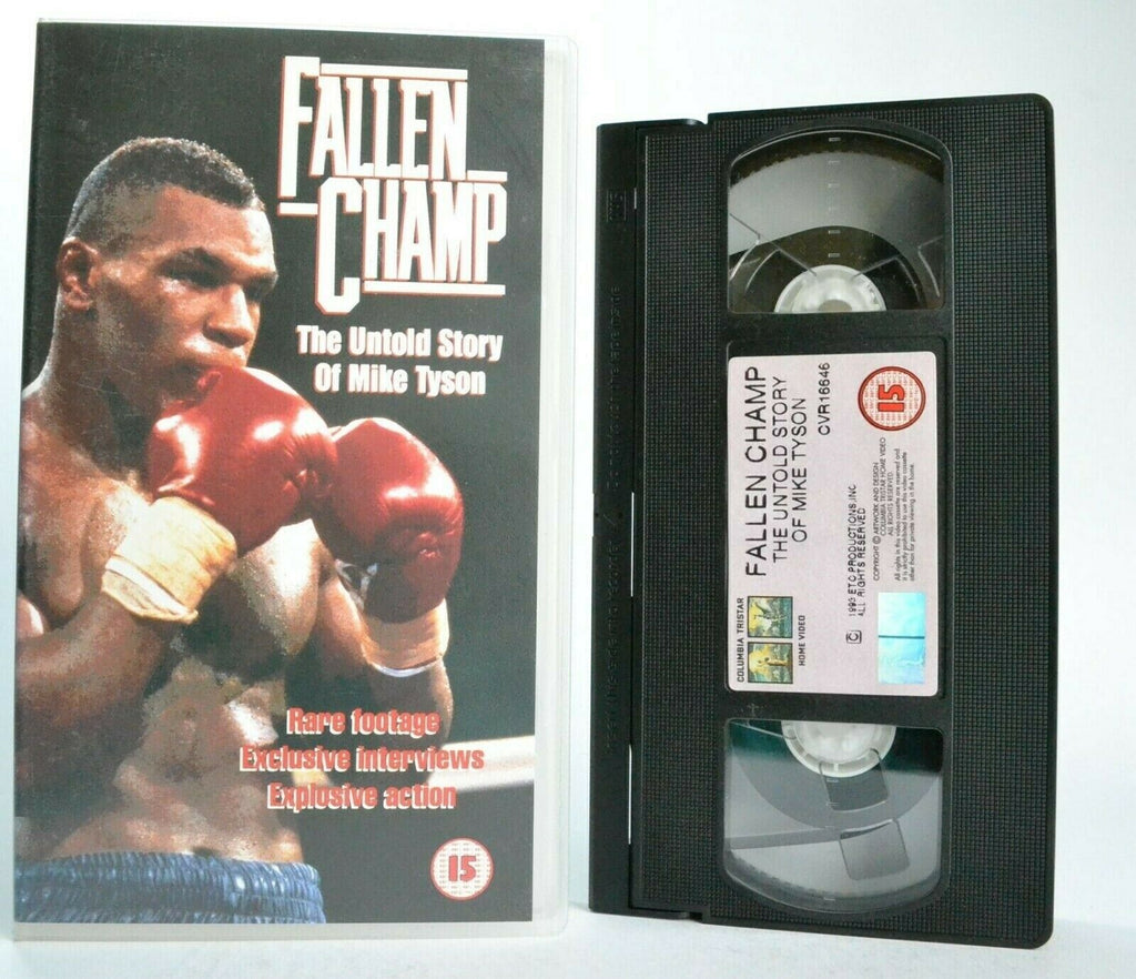 Fallen Champ: The Untold Story Of Mike Tyson - Iron Mike - Documentary - VHS