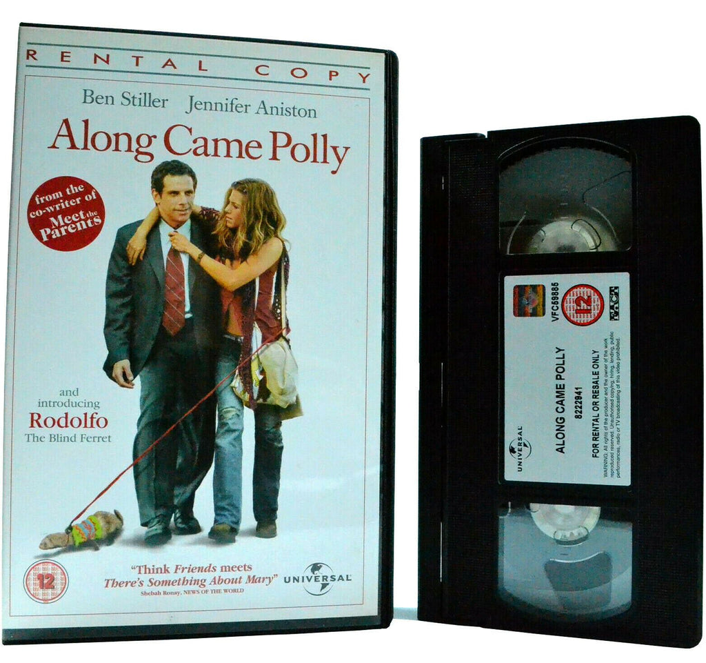 Along Comes Polly: B.Stiller/J.Aniston - Comedy - Large Box - Ex-Rental - VHS