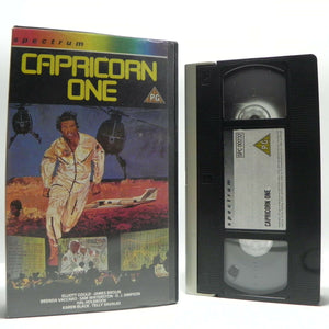 Capricone One: (1977) Action/Thriller - E.Gould/J.Brolin/T.Savalas - Pal VHS